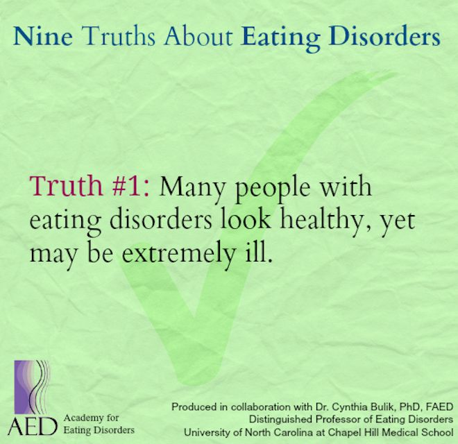 nine truths about eating disorders pdf