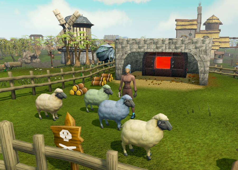 osrs sheep herder quick guide