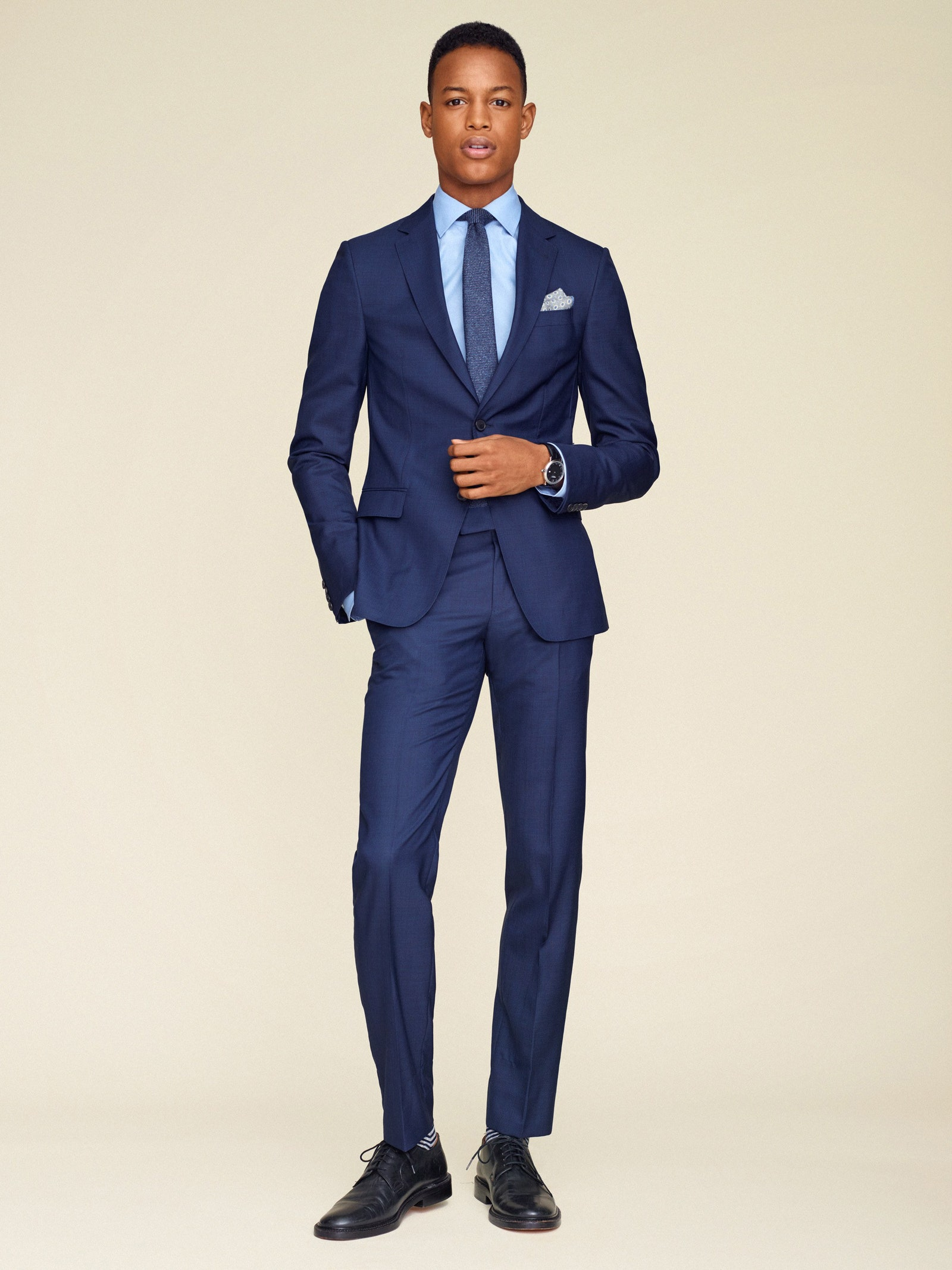 navy suit guide