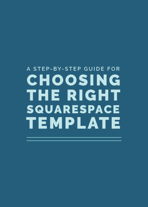 squarespace template guide
